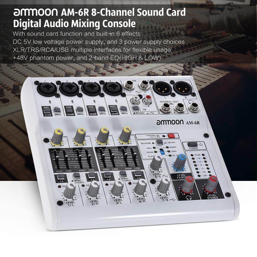 Dj Equipment For Sale Devices Best Seller Prices Brands In 700w Hot Air Station With Builtin Turbine And Circuit Board Holder Am 6r 8 Channel Sound Card Digital Audio Mixer Mixing Console Built