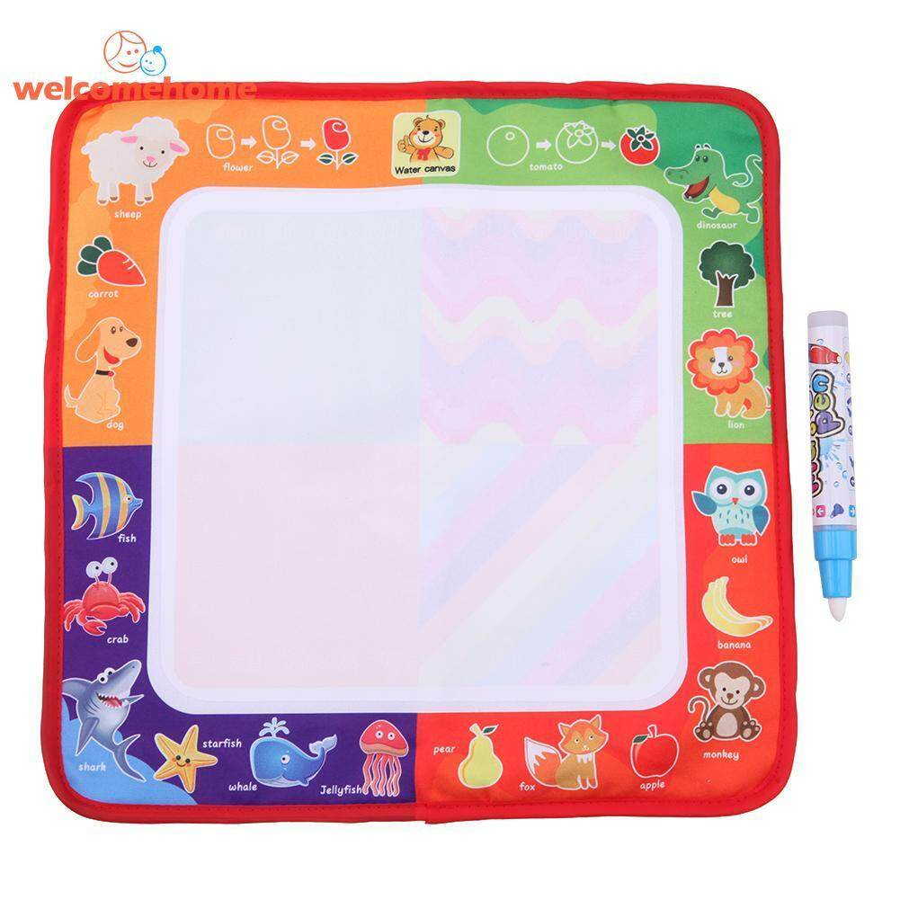 Sihir Air Kain Menggambar Papan Anak Puzzle Doodle Drawng Mainan Alat Lukis-Intl By Welcomehome.