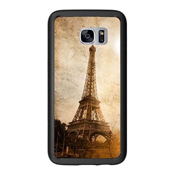 Smartphone Case S Menara Eiffel Grunge untuk Samsung Galaxy S7 G930 Case Cover Atom Pasar-Intl