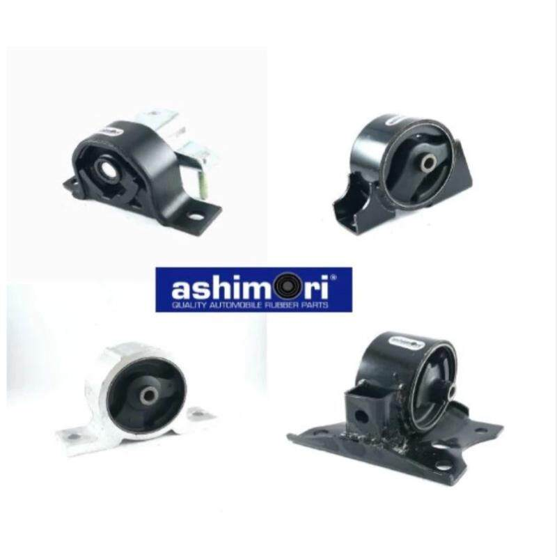 Ashimori Engine Mount Set for Nissan Sentra N16 1.6 / 1.8 (Auto) Mounting motor