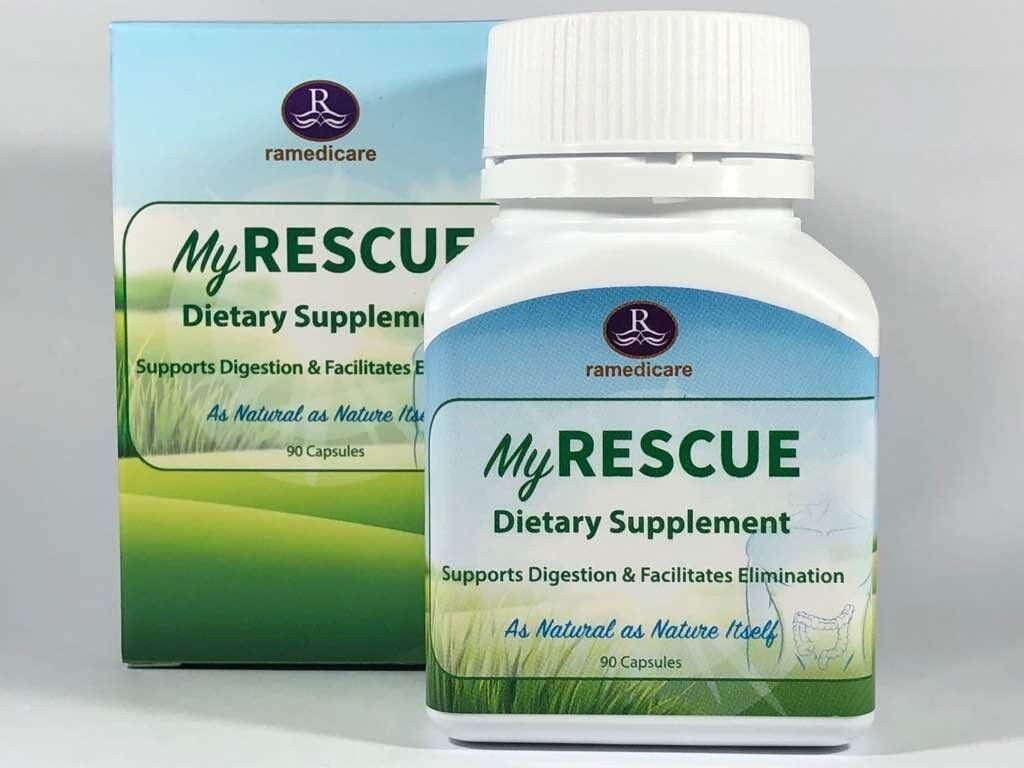 Ramedica My Rescue Detox and Colon Tract Cleanser (90 Capsules)