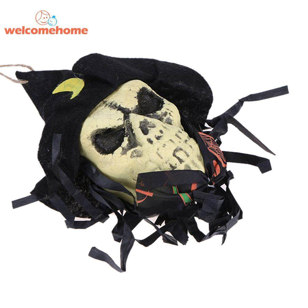 1pcs Skull Banner Flag Ghost Rope String Pendant Halloween Ktv Club Bar Props Decoration By Welcomehome.