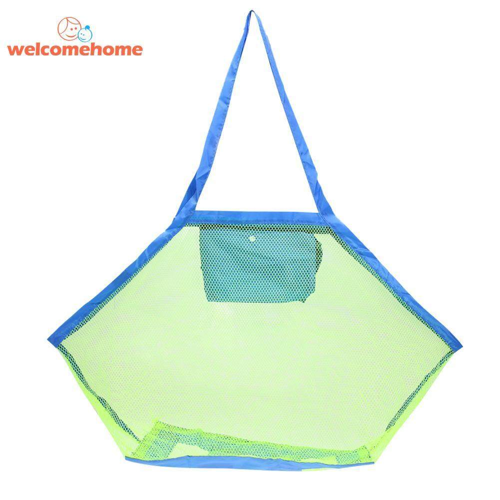 Beach Mesh Bag Baby Bath Toys Storage Bag Clothes Towel Pouch Organizer - Intl By Welcomehome.