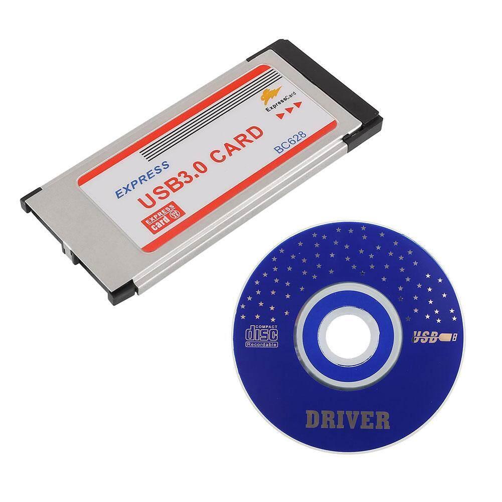 Hình ảnh Aukey NEW Express Card ExpressCard 34mm to 2 Ports 2Ports USB 3.0 Adapter Card BC628 - intl