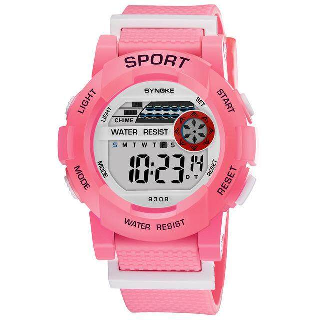 Watches Simply Children Girls Digital Sport Led Electronic Convenience Waterproof Clock Montre Enfant