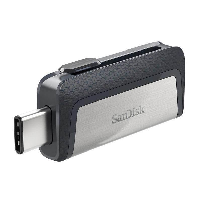 Sandisk SDDDC2 Extreme Type - C 128 กิกะไบต์ 64 กิกะไบต์ 32 กิกะไบต์ OTG คู่ USB แฟลชไดรฟ์ปากกาไดรฟ์แท่ง USB Micro USB ประเภท C แฟลช