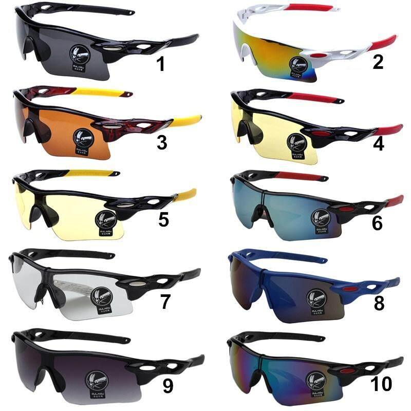 Oulaiou 009181 Olahraga Luar Ruangan Kacamata Bersepeda Berkendara Sepeda  Mengemudi Memancing Berjalan Kacamata Kacamata UV400 Kacamata 5b34d3957b