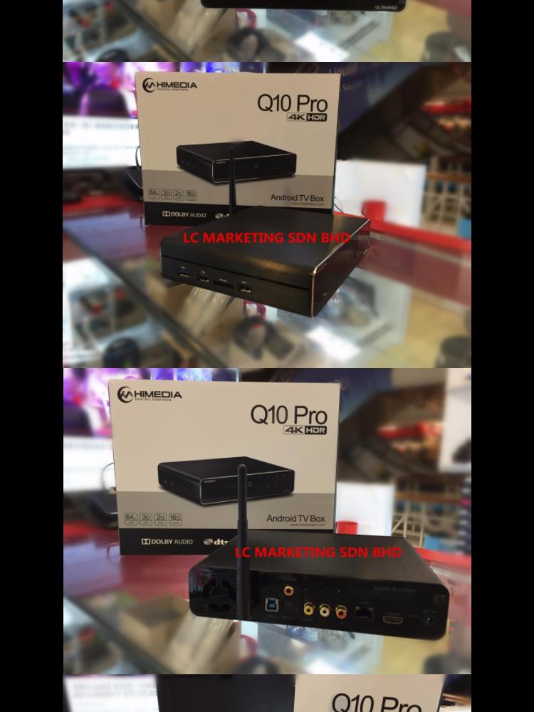 Himedia Q10Pro Q10 Pro (4th Gen) 4KHDR Quad Core Android 7 0 TV BOX 2GB RAM  + 16GB ROM