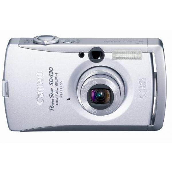 Canon PowerShot SD430 5MP Kamera Digital dengan 3x Optical Zoom (Wi-fi Mampu)