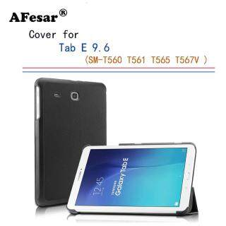 Bao Da Tab E 9.6 SM-T560 Siêu Mỏng Nam Châm Thông Minh Bằng Da Pu Cho Samsung Tab E 9.6 Nook 9.6 T561 T565 SM-T567V Có Chân Đế thumbnail