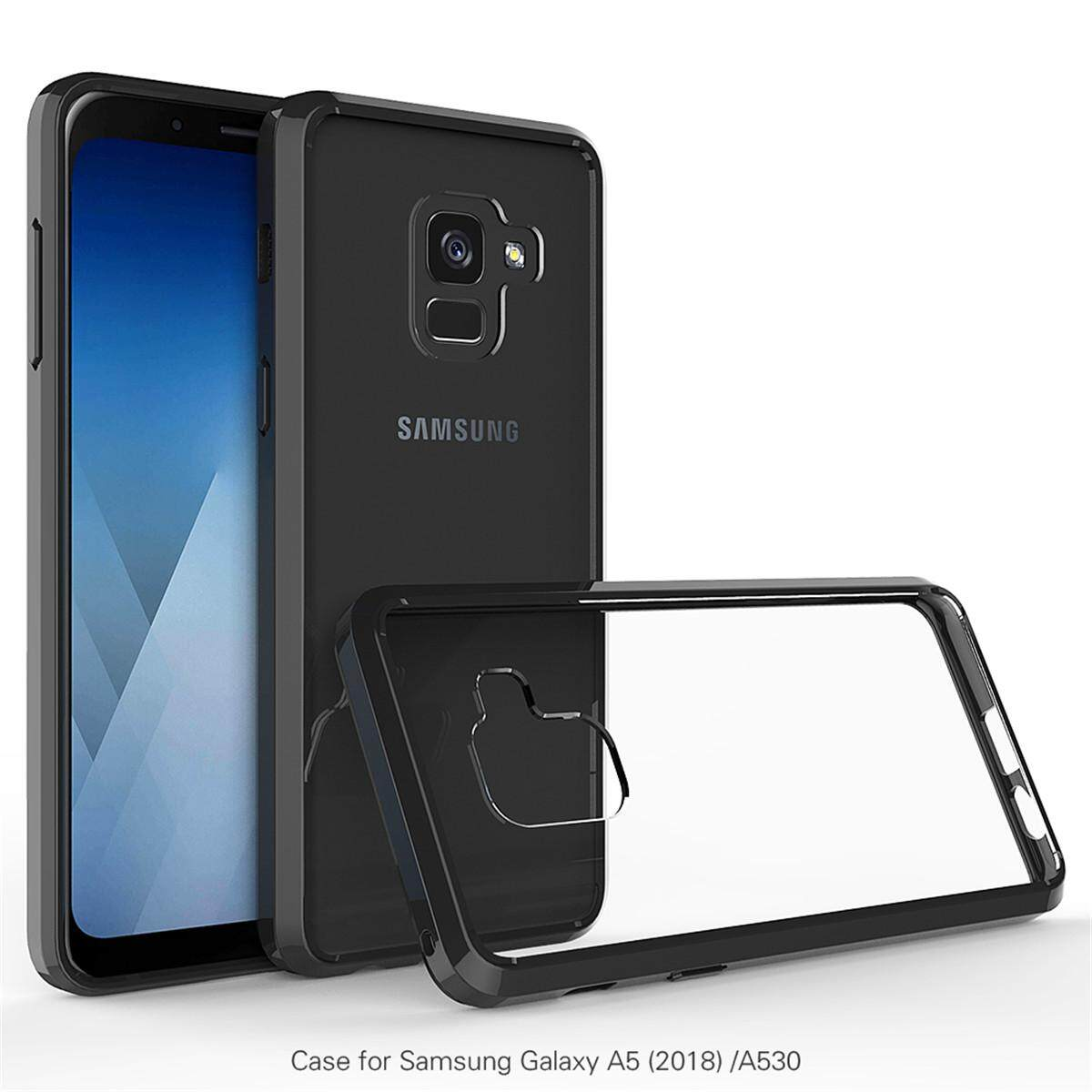 Rp 77.000. Moonmini Case Sarung, untuk Samsung Galaksi A8 2018 Kristal Bening Lembut TPU ...