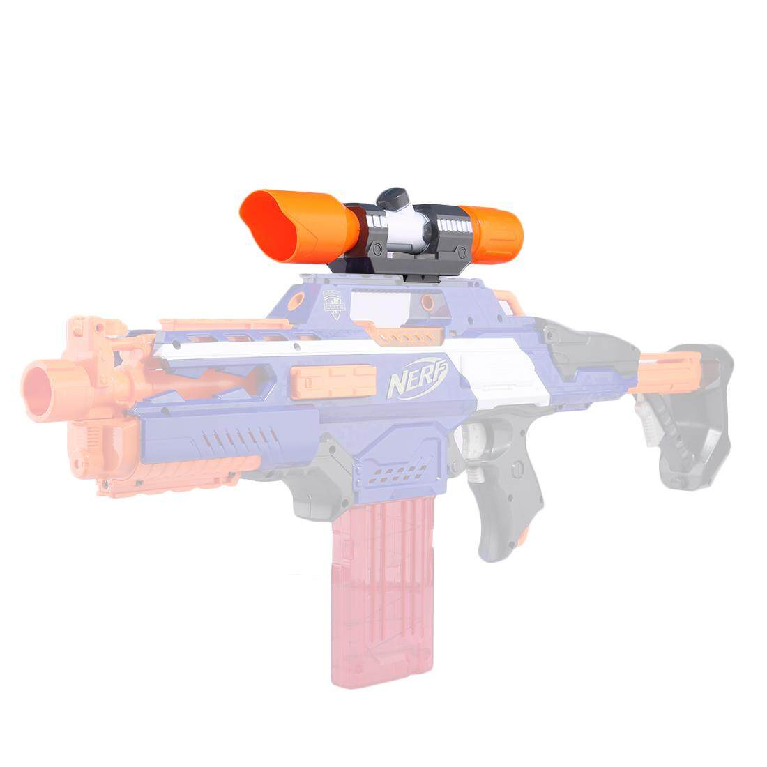 Hình ảnh 360WISH Modified Part Front Tube Sighting Device for Nerf Elite Series - Orange + Grey