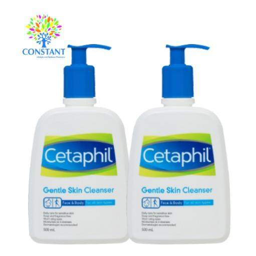 Cetaphil Gentle Skin Cleanser 500ml x 2