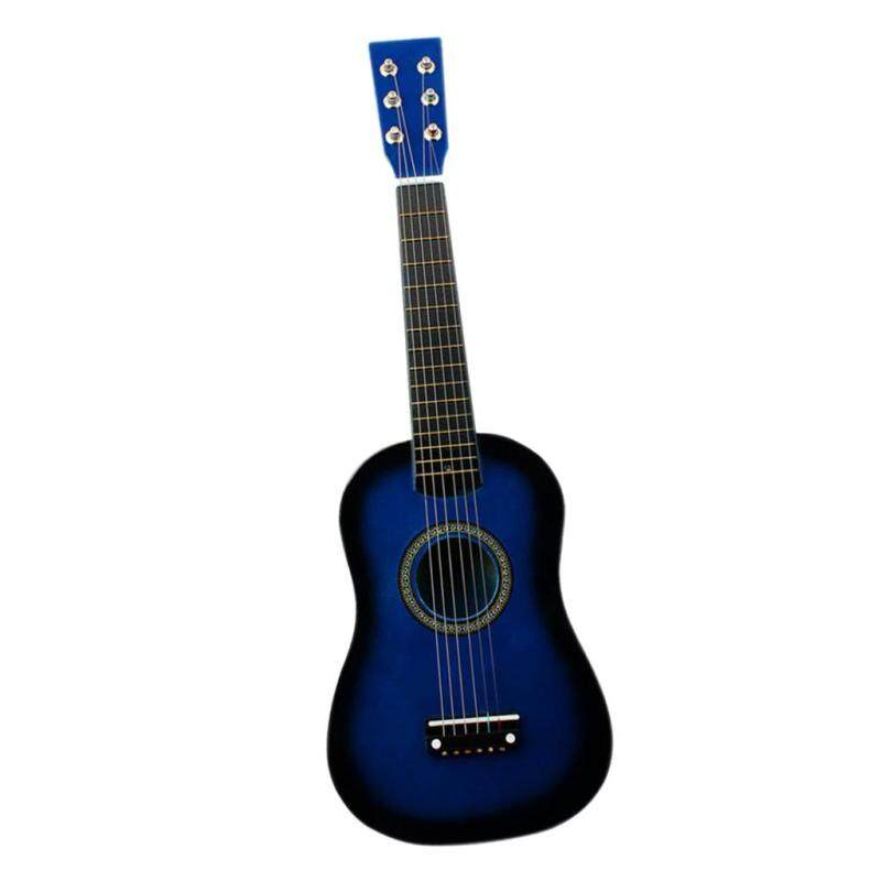 Miracle Shining Mini 23 inch Wooden 6 Strings Acoustic Guitar Musical Instrument Gift Blue Malaysia