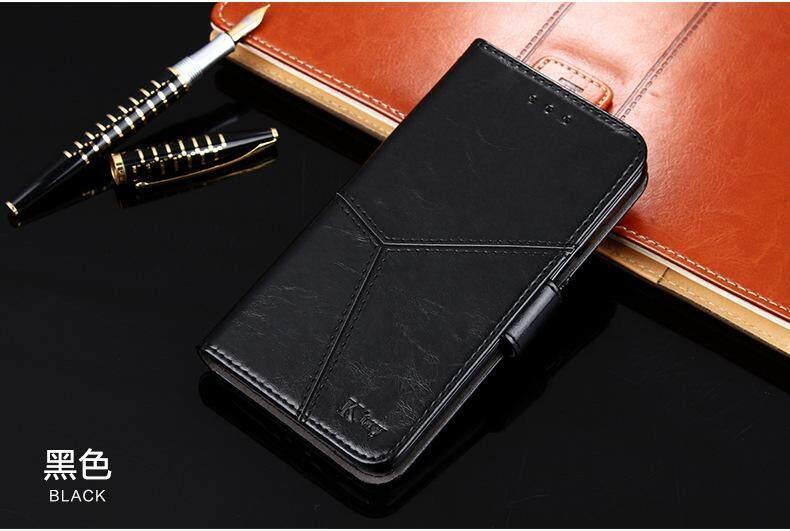K'try Telepon Seluler Case untuk Oppo A57 Mulia Minyak Lilin Pola Flip Casing Ponsel Penutup Pelindung Kartu Paket 3 In 1 (Tpu + PU + Kulit) case Kulit