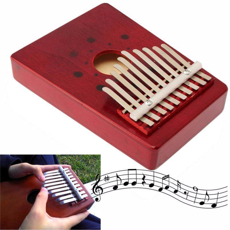 Chux 10 key finger thumb piano instrument Kalimba Mbira Likembe hollow traditional African musical instrument great gift Malaysia