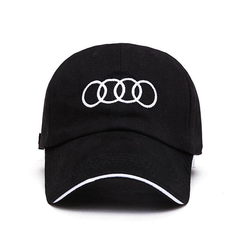 b0b949b1 Car Styling Sline Emblem Baseball Cap Hat For Audi A3 8p Sline A4 B6 A6 C6