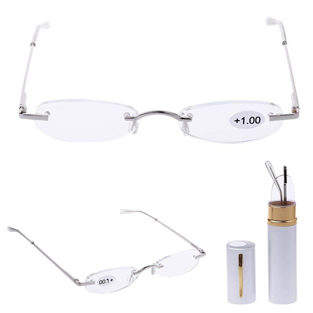 Detail Gambar Portable Tanpa Bingkai Kacamata untuk Membaca Kaca Mata Presbiopi 1.0 1.5 2.0 2.5 3.0
