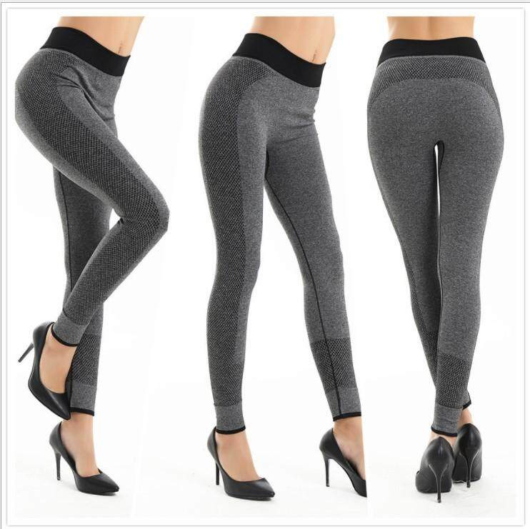 60a8f7e0b20bd Luoke Women Yoga Sports Tights Pant Female Sports Elastic Fitness Running  Trousers Slim Leggings