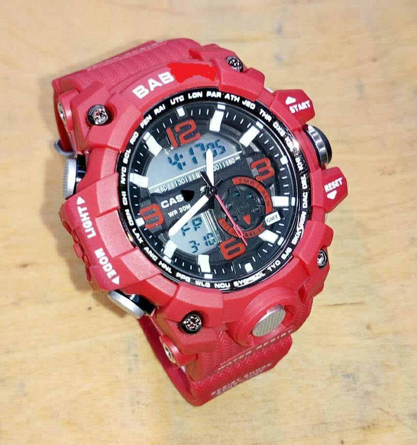 RED STRAP BABY SPORTS WATCH FOR WOMEN