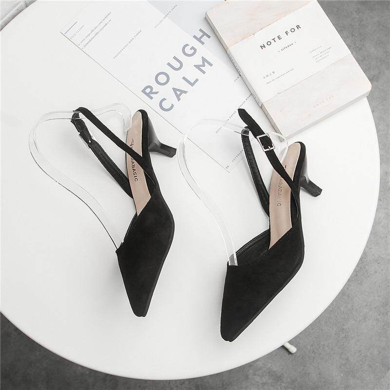 69e76c8948976 High Quality Plus Size 31-43 Chunky High Heels Sandals Women 2018 Mary Jane  Buckle