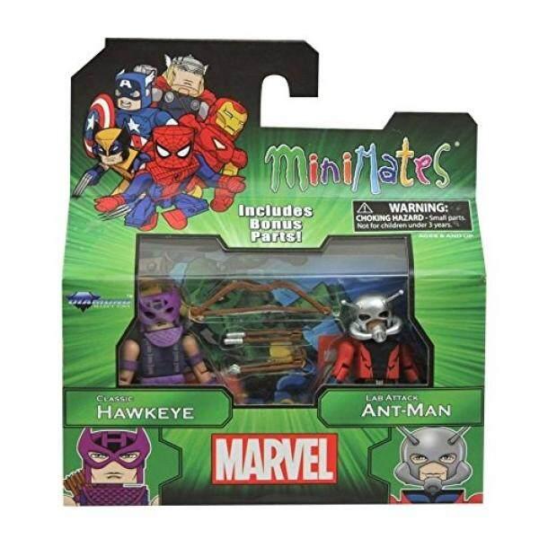 Terbaik dari Marvel Minimates Series 3: Classic Hawkeye dengan Jas Lab Ant-Man-Intl