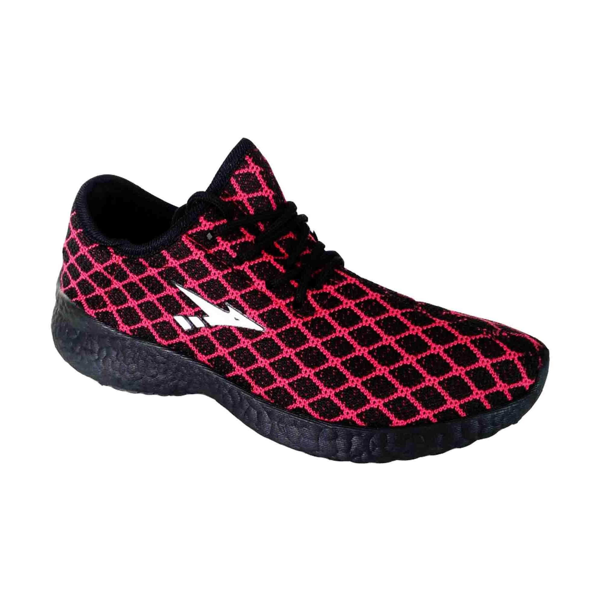 Amsdex Terra Sneakers for Women - Black/Red
