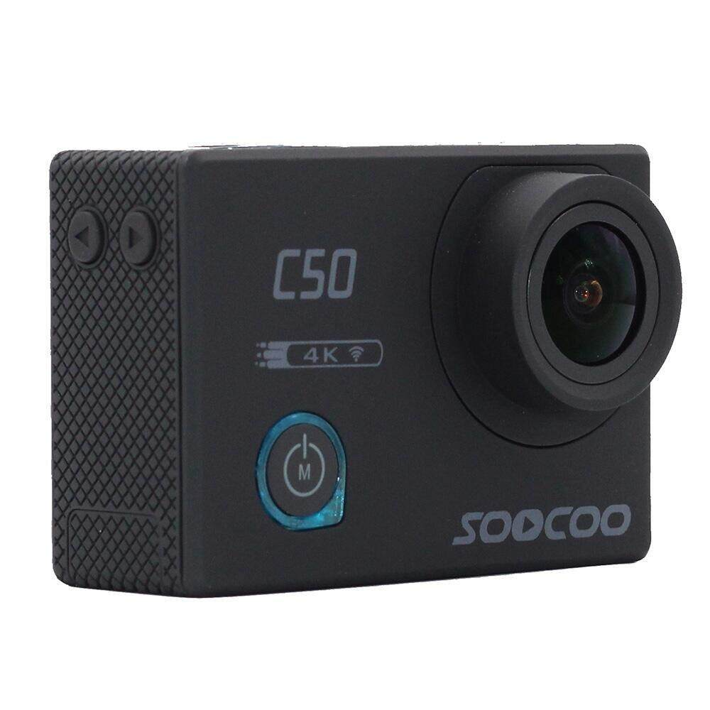Free Shipping SOOCOO C50 Action 4K Sports Camera Wifi Gyro Adjustable Viewing angles NTK96660 30M Waterproof Sport DV Action Cam