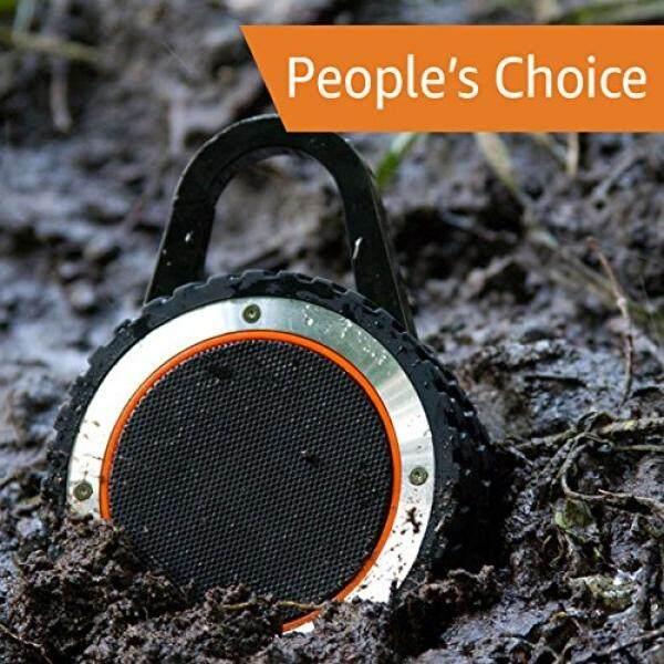 Semua Medan Suara Speaker Bluetooth Portabel Kasar Outdoor Nirkabel Tahan Air Bluetooth Speaker-Hitam-Intl