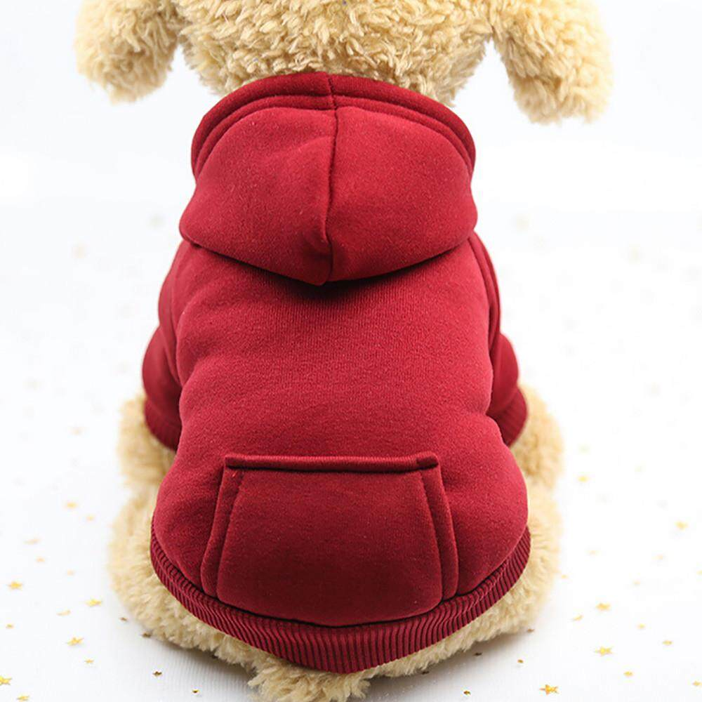 Polyester Hoodied Sweatshirts With Pocket Dog Clothes Pet Clothing By Mokieshop.