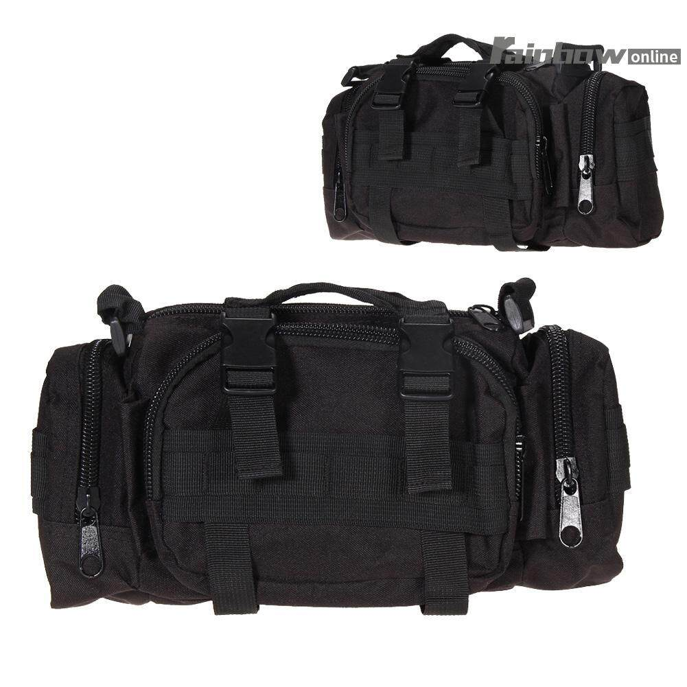 Outdoor Military Tactical Waist Pack Molle Camping Hiking Pouch Bag - Intl By Rainbowonline