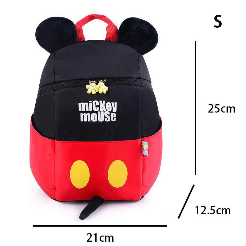 Toddler Baby Kids Cute Mouse Bags Children Cartoon Polka Dots Backpack For 1-3 Years Kindergarten Girls Boys Christmas Birthday Gifts