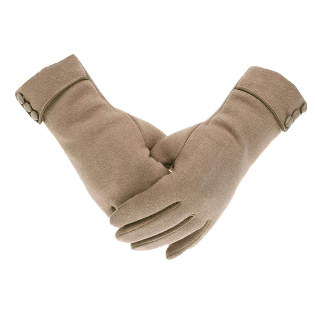 12785706f2c80 Big House Women Winter Warm Gloves Cycling Fleeced Touch Screen Gloves For  Ladies