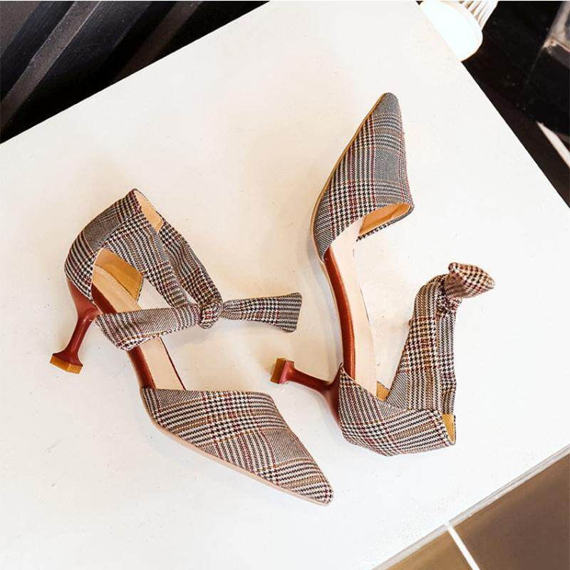 Indie female New style A-line sandals stiletto heels - intl