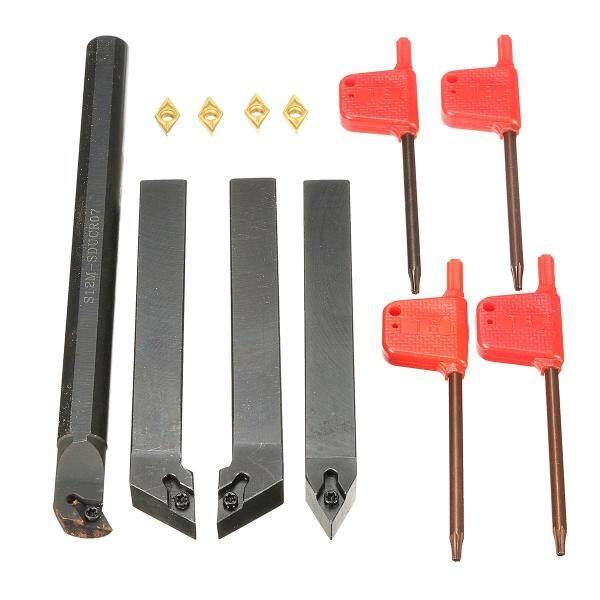 4 cái dcmt0702 chèn cacbua + S12M-SDUCR07/sdjcr1212h07/sdncn1212h07 Giá đỡ xoay-