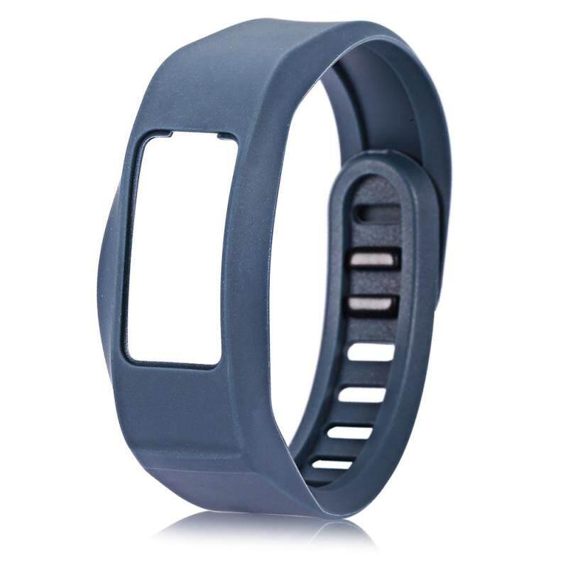 Jewelry Jeweler 16mm Silicone Band Strap Buckle Wristband for Garmin vivofit2 Sports Bracelet (Cyan) Malaysia