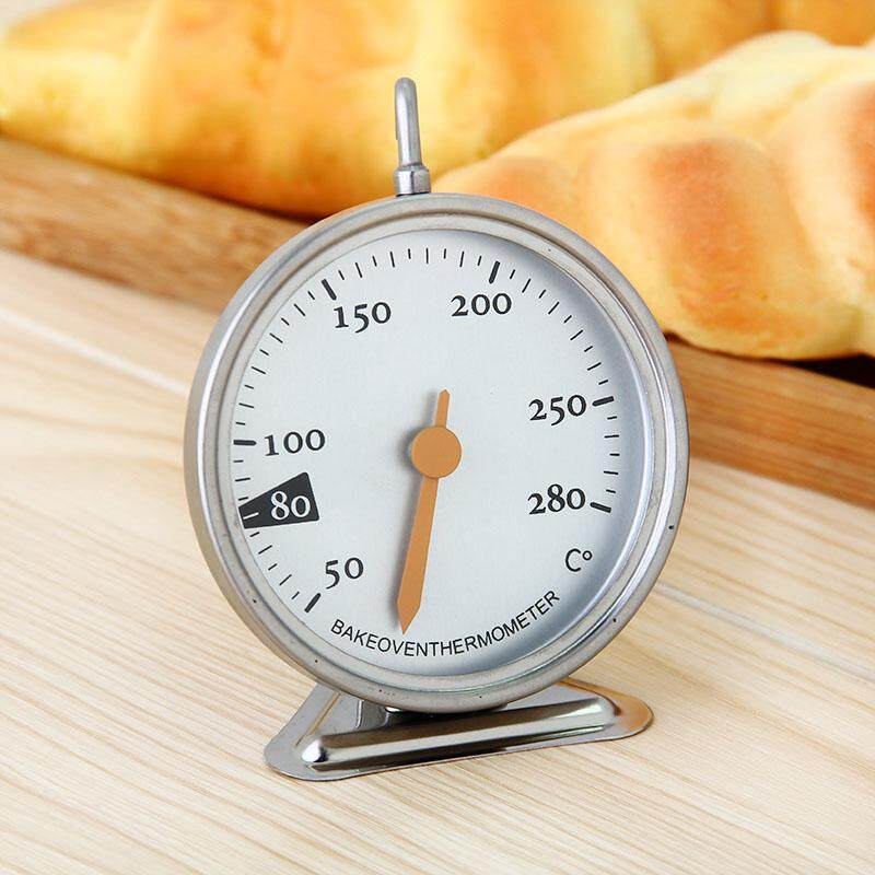 Hình ảnh ABH Baking Tools Kitchen Oven Thermometer Food Meat Dial Dedicated Mechanical 50-280 Degrees - intl