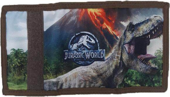Jurassic World Trifold Wallet Featuring T-Rex
