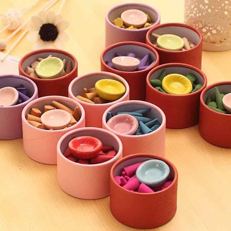 ... Canglex Alam Dupa Aromaterapi Sandalwood Rose Aroma Parfum Set (Teh Hijau) - 5