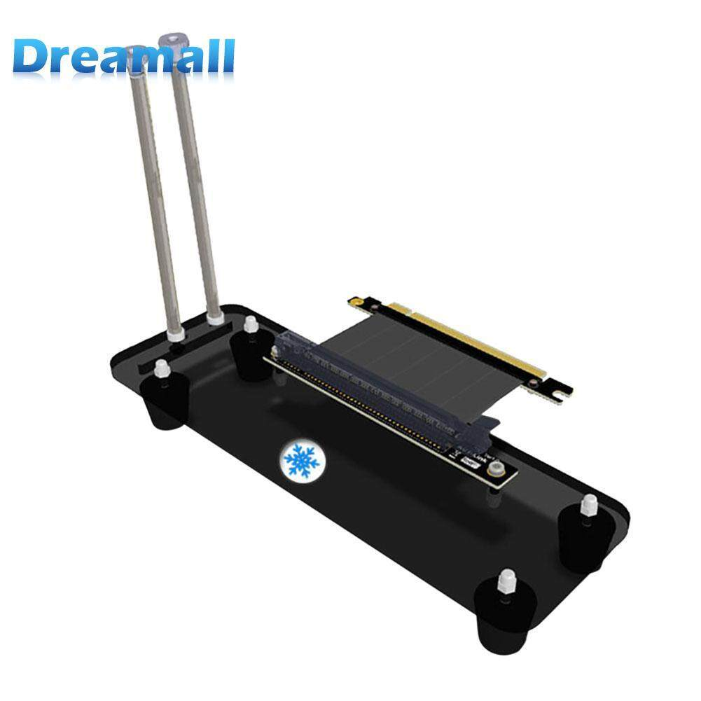 Dreamall Riser Card Pci-E3.0 16x Vertical Stand Holder Bracket+pci-E Extension Cable By Dreamall.