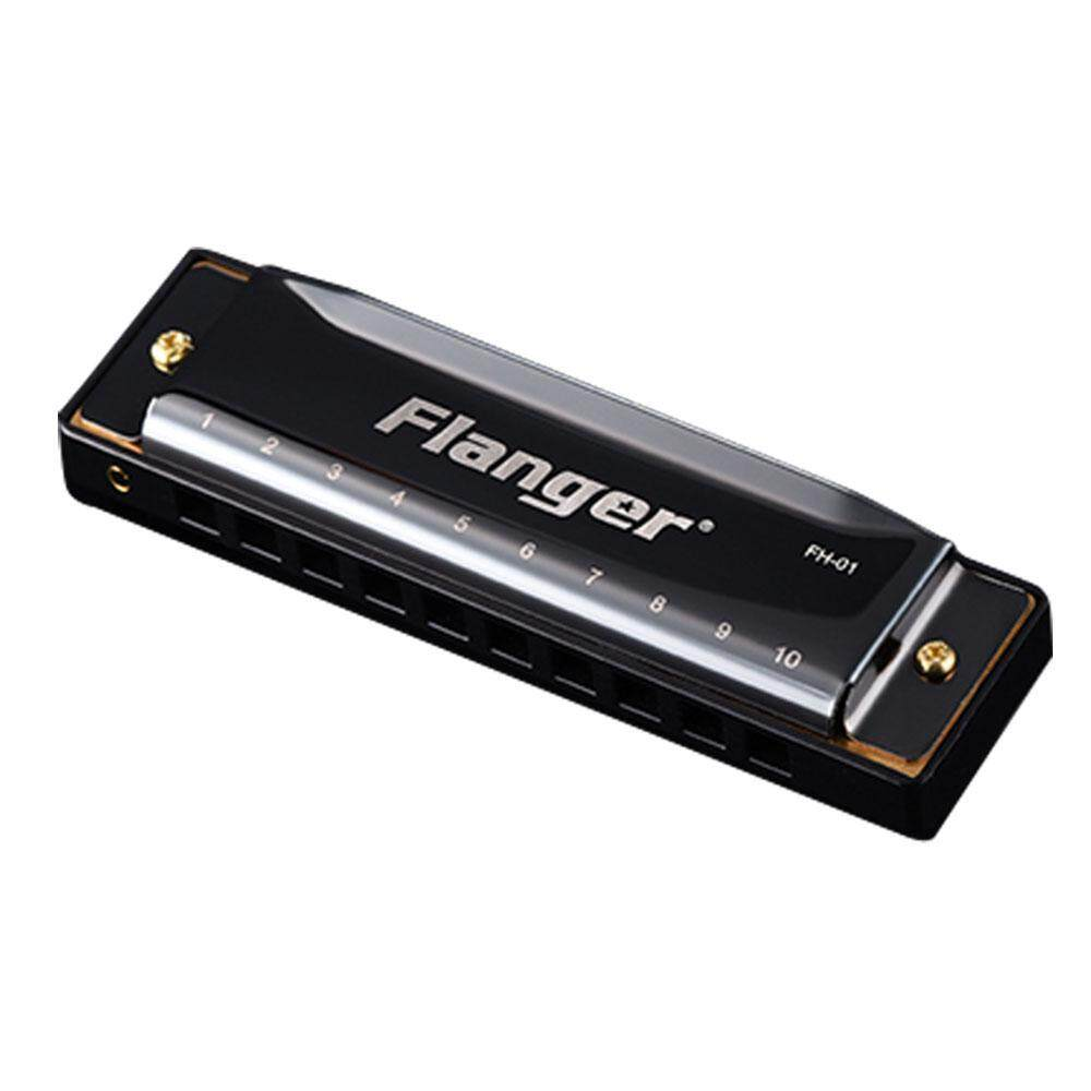 Niceeshop Flanger Harmonica Diatonic 10 Hole 20 Tone With Case Key Of C For Beginner Professionals By Nicee Shop.