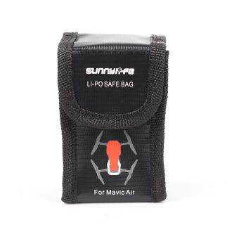 Battery Fireproof Explosionproof Storage Bag Case Safety Small Size For DJI Mavic AIR Drone Single Battery - intl