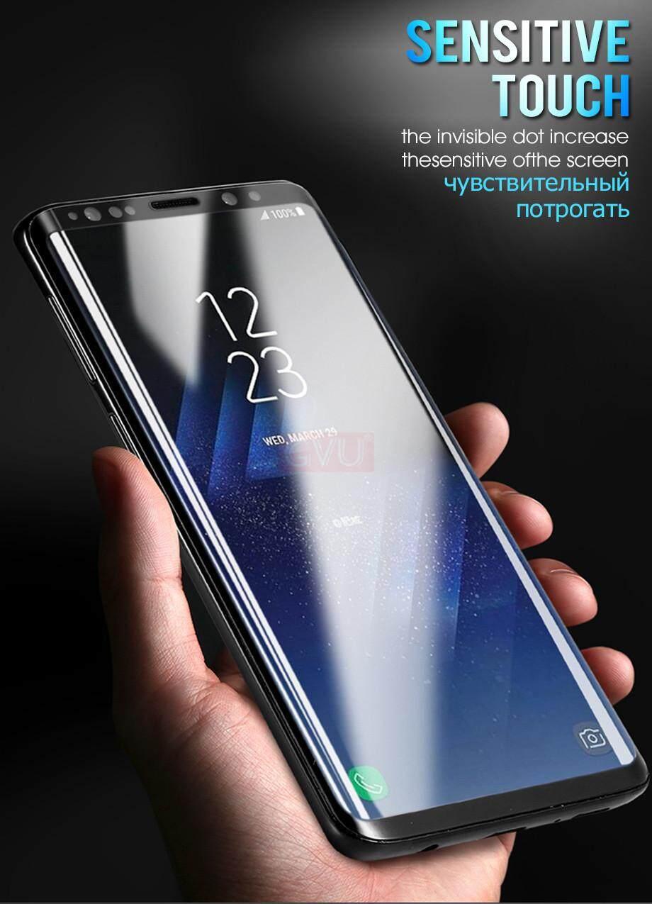 7D Penuh Kaca Tempered Melengkung untuk Samsung GALAXY Catatan 9 8 Pelindung Layar untuk Samsung S9 S8 Plus S7 S6 Tepi Kaca Penutup - 3