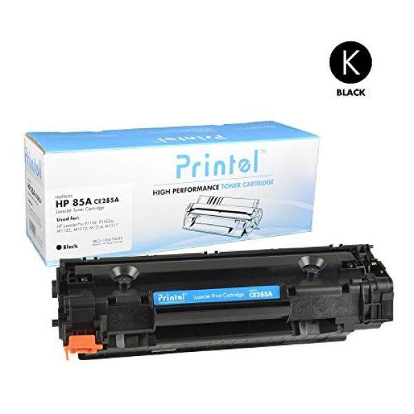 Printel HP 85A (CE285A) Black, Compatible Toner Cartridge by Printel, 1600 Page Yield -for use in HP LaserJet Pro M1132, M1212nf, M1217nfw MFP, P1102, and P1102W Printers - intl