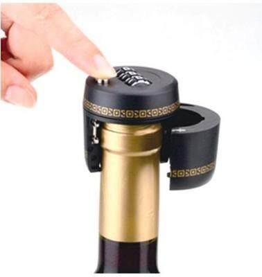 Alloy Cap Password Lock Drift Alcohol Wine Bottle