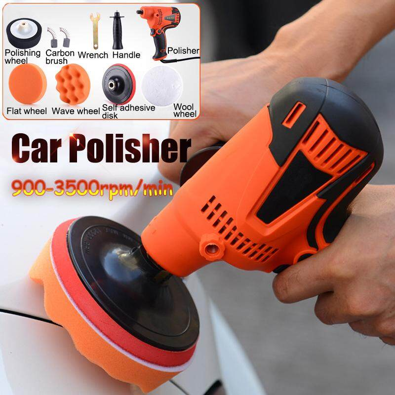 800w Electric Car Polisher Polishing Waxing Buffer 125mm 900-3500rpm Adjustable - Intl By Freebang.
