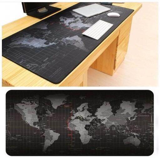 Big Size (80cm*30cm*0.2cm) Pro Gaming World Map Mouse Pad Mousepad for Dota LOL CS GO Malaysia