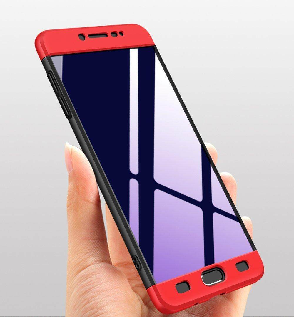 Detail Gambar Full Body 3 In 1 Thin Fit Tightly 360 Degree Protection Premium Hybrid Bumper Hard Case For Samsung Galaxy C9 Pro Terbaru