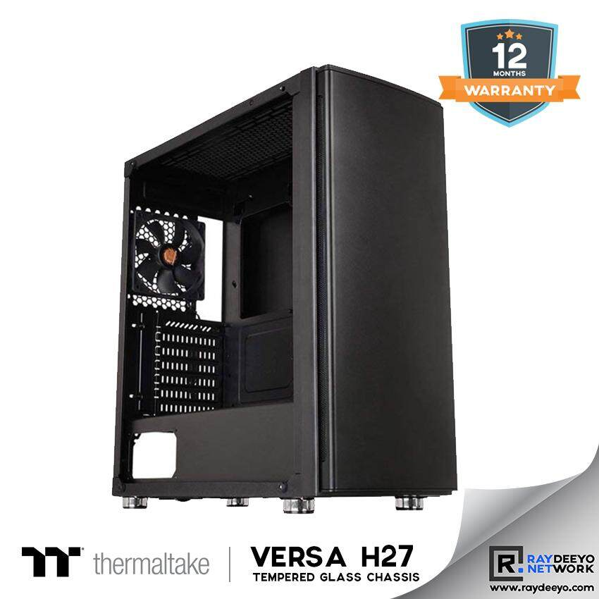 Thermaltake Versa H27 Tempered Glass Edition Mid-Tower Chassis [ATX, Matx, Mini-ITX] Malaysia