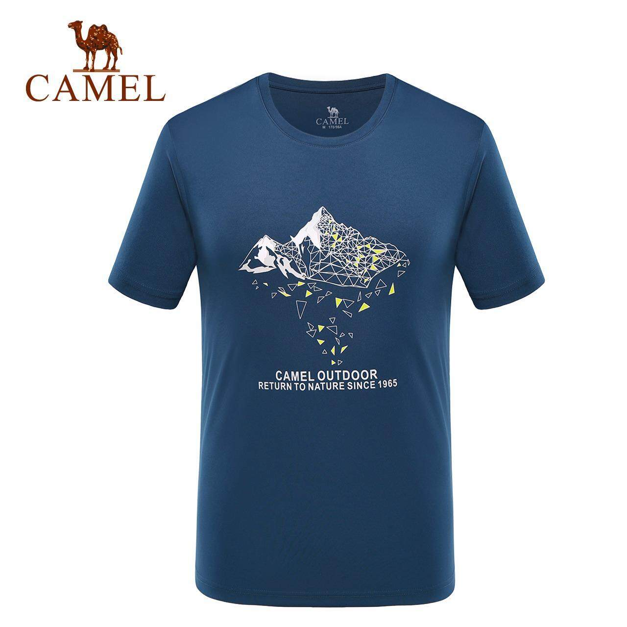 a3cfc838b7ee Camel Outdoor Quick-drying T-shirt Men and Women Couple Casual Dry Sweat-